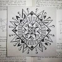 Mandala Mostly Moved On by Llyzabeth