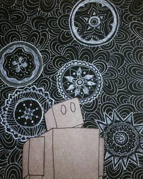 Cardboard Robot and the Infinite Sky