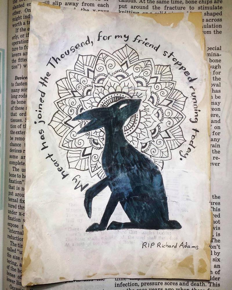 RIP, Richard Adams by Llyzabeth