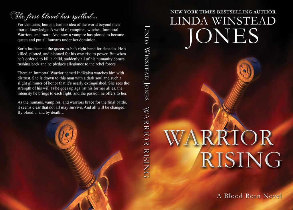 Cover Design - Warrior Rising by Llyzabeth
