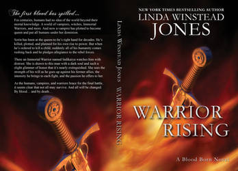 Cover Design - Warrior Rising by Llyzabeth