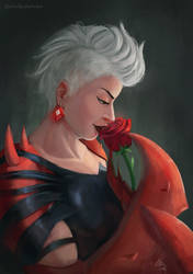 I'm a hugger! -  Scorpia - She Ra Fanart