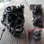 Zombie Steampunk Ring