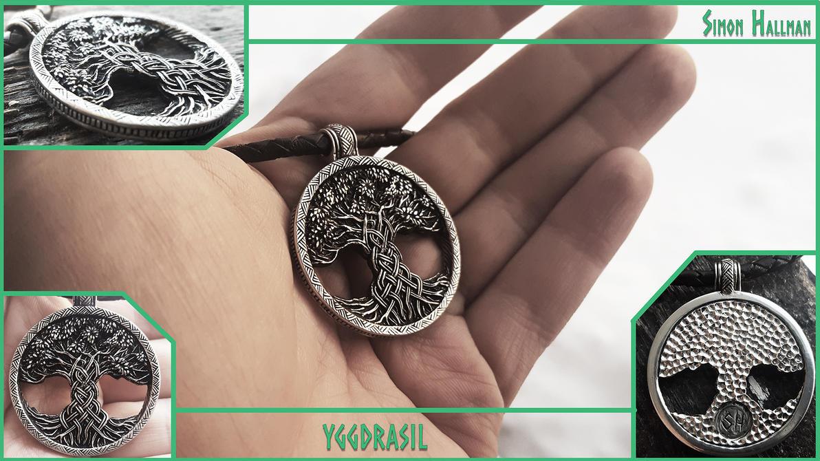 Yggdrasil Pendant by Zrognak