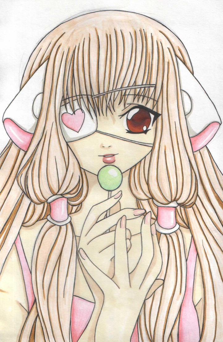 Chii coloured by geneticallymodified