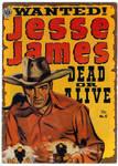 Jesse James   February 1952 Comic.