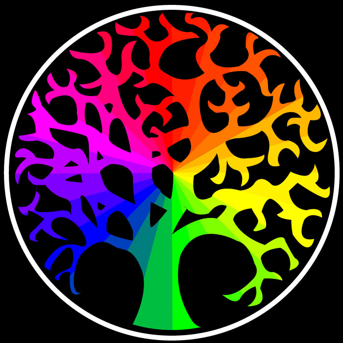 Color Wheel Tree By Everybodyluvsanton On DeviantArt