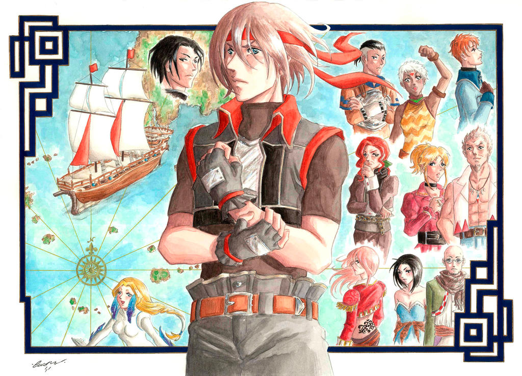 Unforgettable Adventure_ Suikoden  Day 2014 by Psycho-Firefly