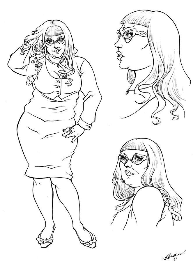 Cheryl_Lineart by Psycho-Firefly