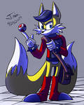 Destructive Fox boi by Trix-Master