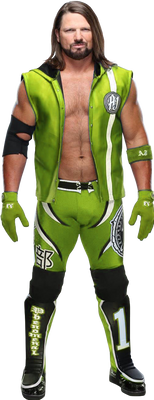 Aj Styles Green Render 2019 By Sethjutt
