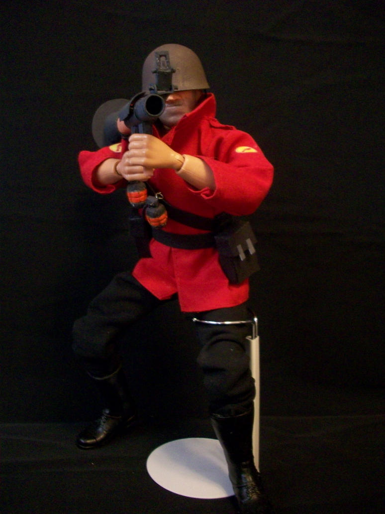 Team Fortress 2 Soldier Doll by JNorad