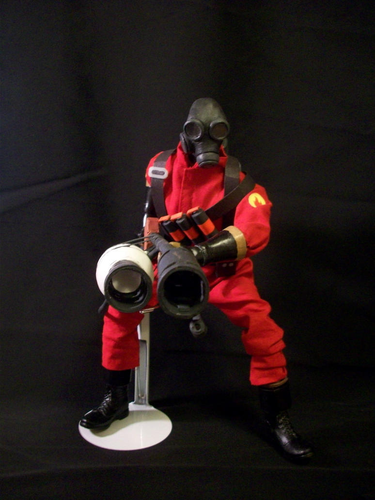 Team Fortress 2 Pyro Doll by JNorad