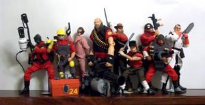 Team Fortress 2 dolls by JNorad