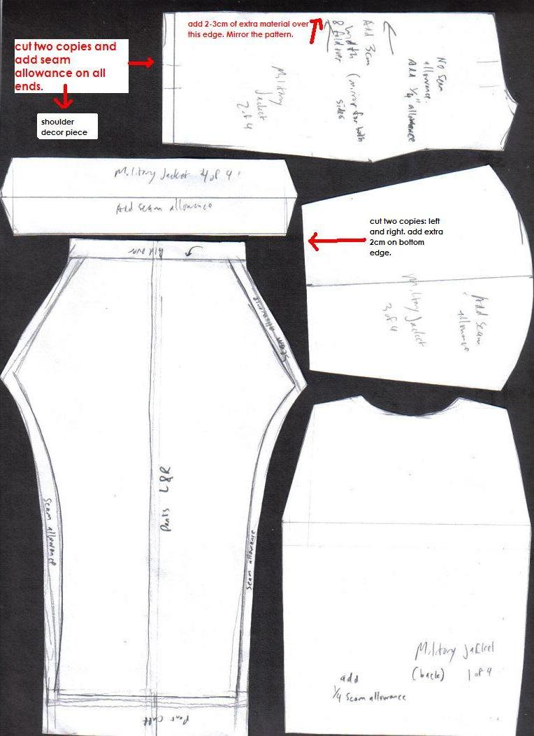 Sewing Patterns 01 by JNorad on DeviantArt