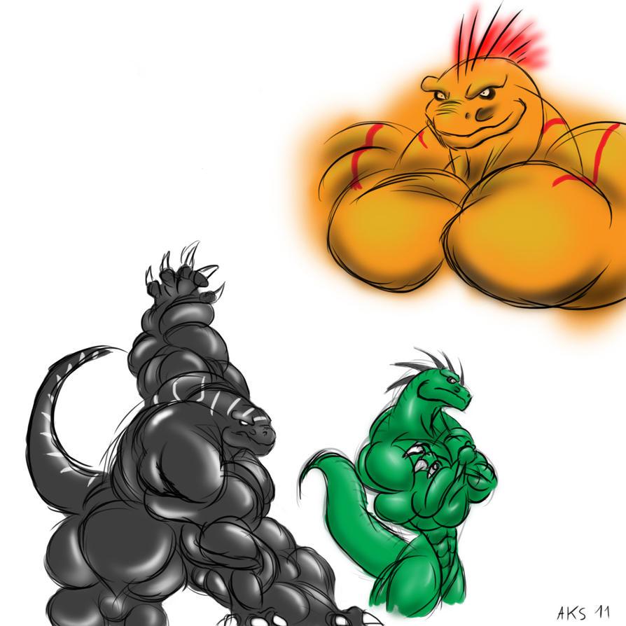 Raptors Doodle by Arkeus-Dragon