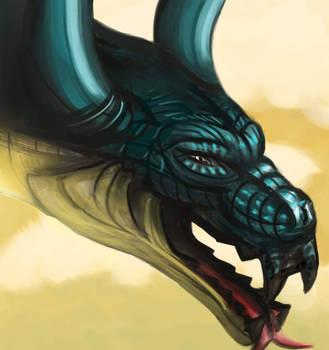 Dragon by WolfmanArtist