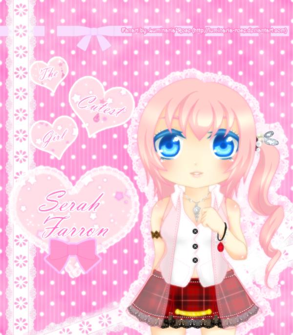 The Cutest Girl : Serah by Luminaria-Rose