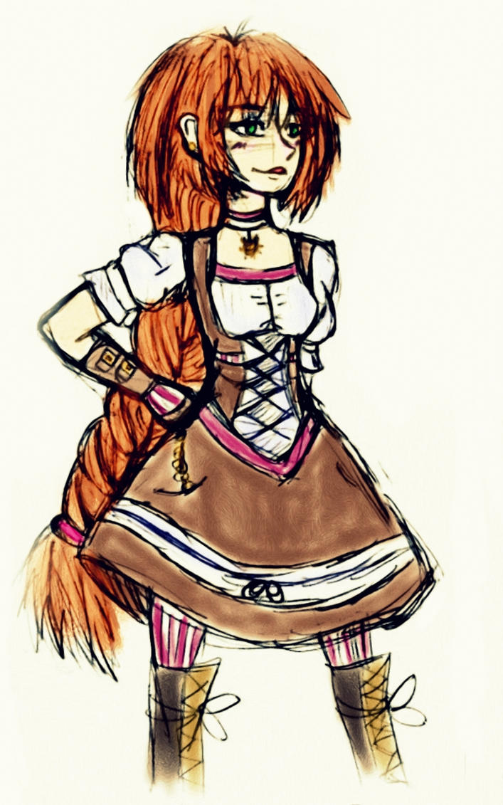 Steampunk Girl by Shizuka-cute