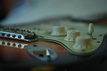 Stratocaster wear'n'tear by atomkat