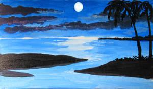 Gold Coast moon
