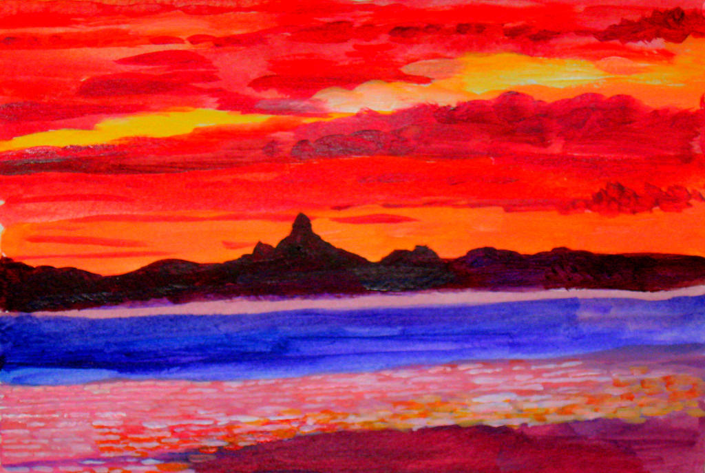 Sunset Glasshouse by QueenslandChris