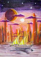 Sailing to Valinor by QueenslandChris