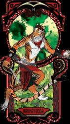 Nakhayudda Anthro Sumatran Tiger