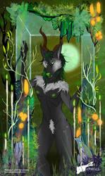 YCH Halloween 2020 - Binx The Dragon Fox