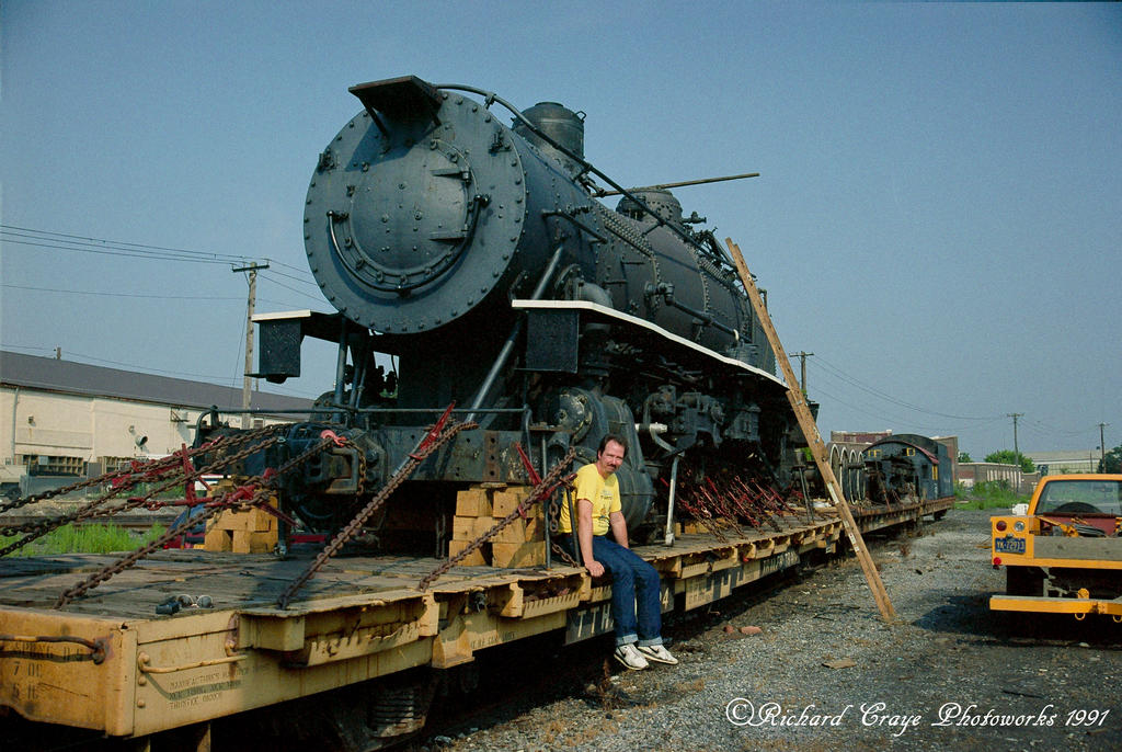 Strasburg Railroad's New Locomotive....