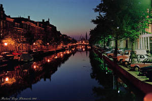'Evening on the Canal'....