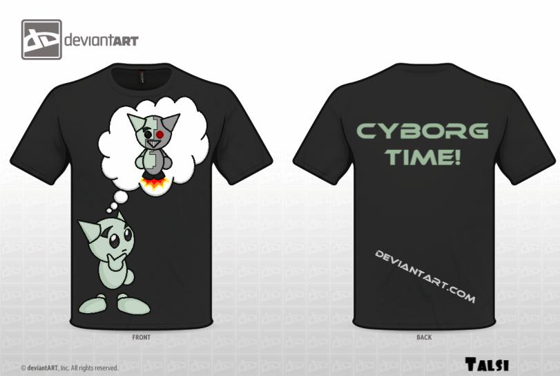 Retro Future: Dream of a Cyborg by LoyalPuppet
