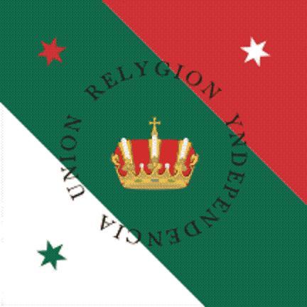 Bandera Trigarante. by Felzm