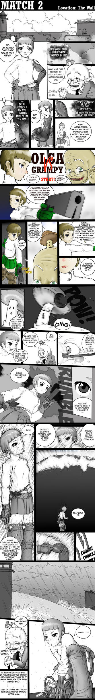 Olga vs Grampy part one. by snargo