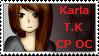 Stamp 3__Karla The Killer CpOc by YamiNekbeth