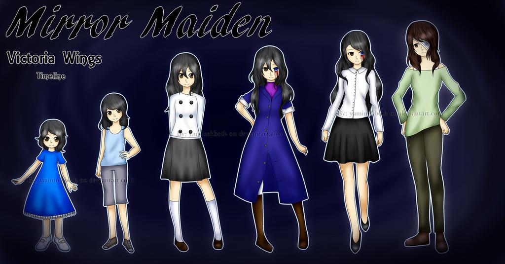 :CPOC: Mirror Maiden Timeline by YamiNekbeth