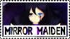 :CPOC: Mirror Maiden Stamp by Yam-Pao