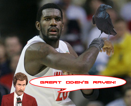 Greg Oden's Raven by rogos