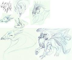 New Species - Sketchdump by Suspiria-Ru