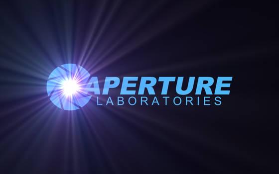Aperture Science Wallpaper Blu