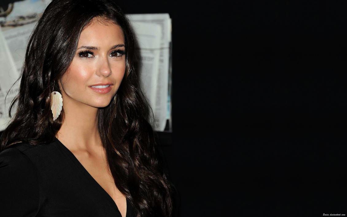 Nina Dobrev Brunette Beauty by 2micc