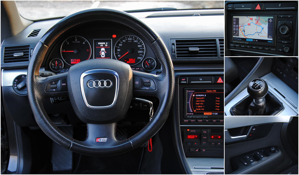 Audi A4 B7 S Line Inside By 2micc On Deviantart