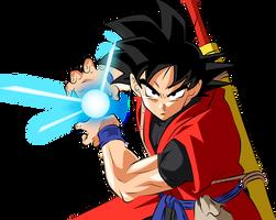 Goku Xeno by Monstkem
