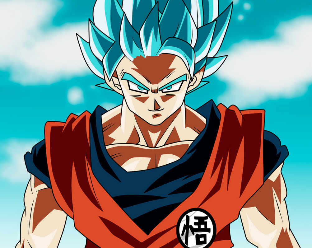 goku ssj blue 2 by monstkem on deviantart