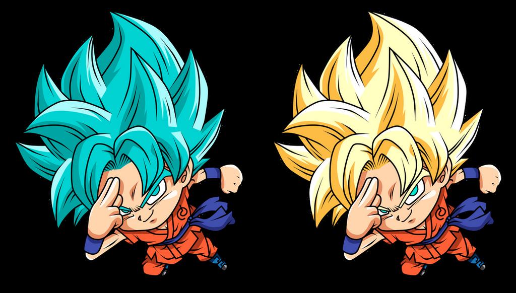 Goku Ssj by Monstkem on DeviantArt