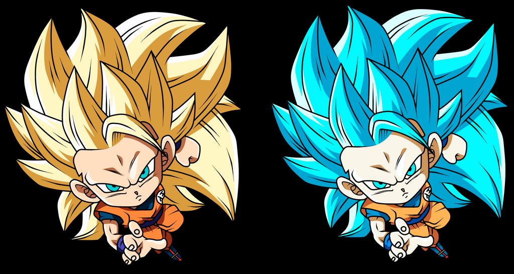 Goku Ssj 3 by Monstkem on DeviantArt