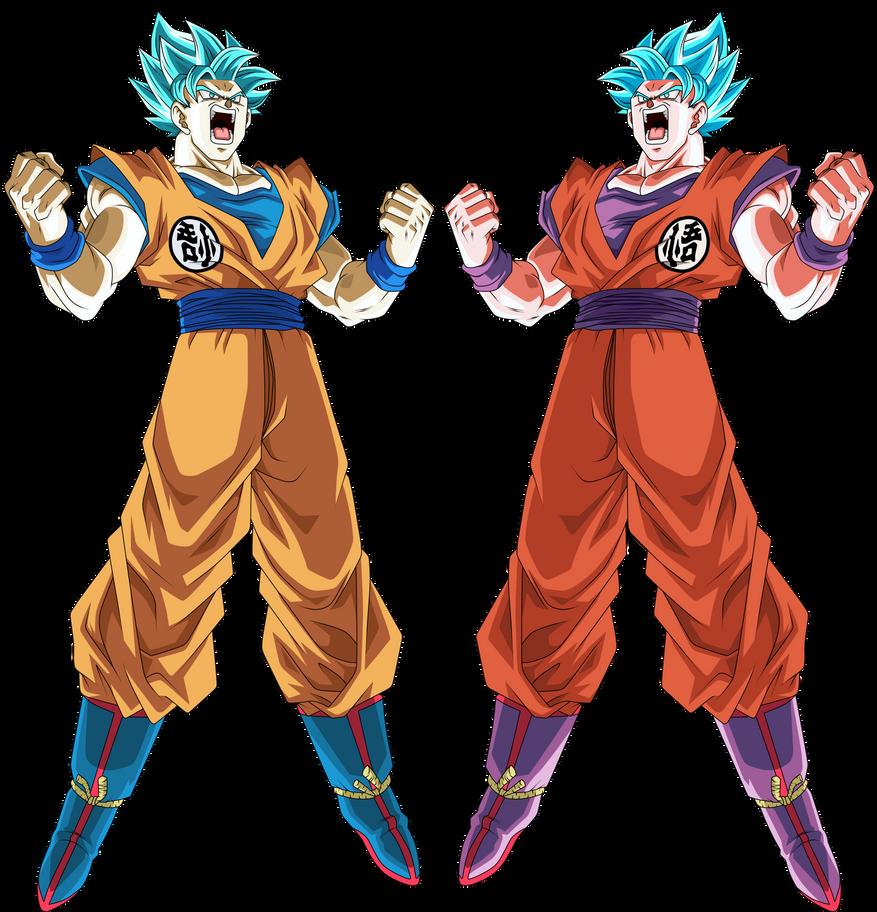 Goku Ssj Blue by Monstkem on DeviantArt