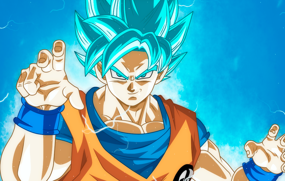 how to draw vegeta ssj blue