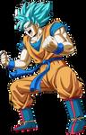 Son Goku Supa Saiyajin Buru