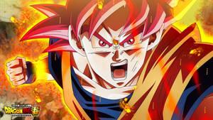 Son Goku Supa Saiyajin Goddo